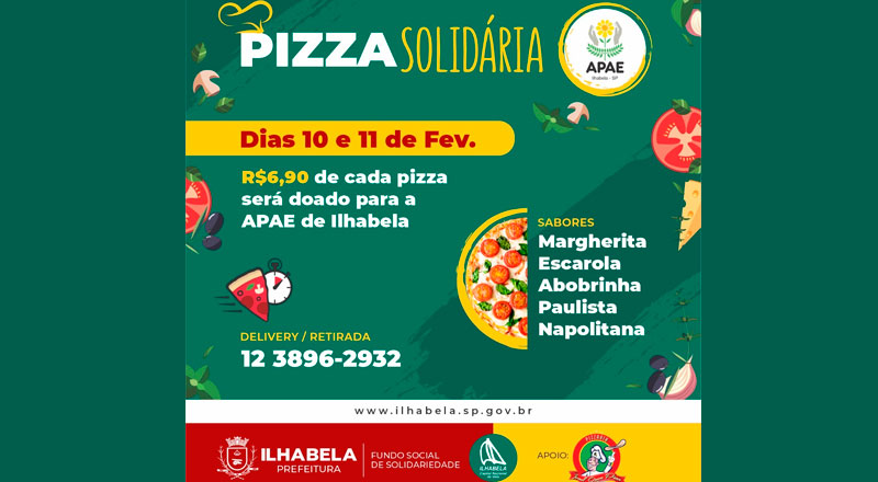 Pizza Solidária - APAE