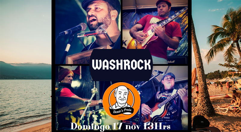 WashRock no Denio's